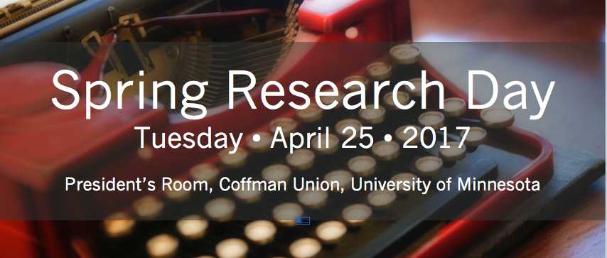 Spring Research Day 2017