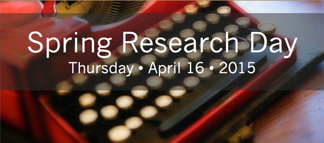 Spring Research Day 2015